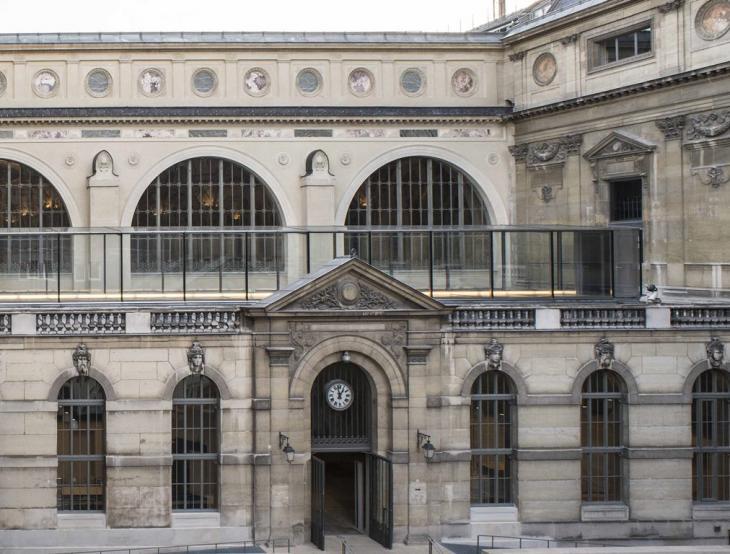 Richelieu, vue  extérieure  ©Photo JC Ballot/ BnF/ Oppic/Inha/ Enc ©BnF/Inha/Enc – Bruno Gaudin, Virginie Brégal, Architectes, Paris 2016