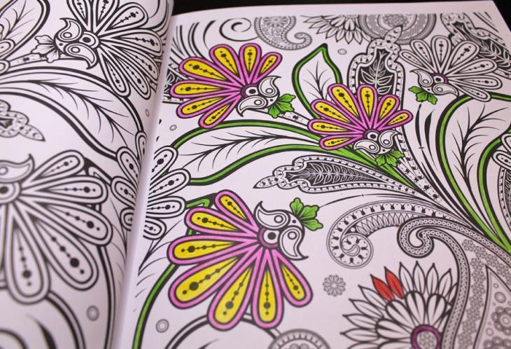 Notre Selection De 10 Livres De Coloriages Anti Stress Viabooks