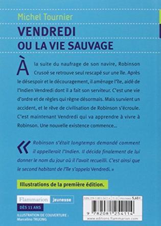 Vendredi Ou La Vie Sauvage Viabooks