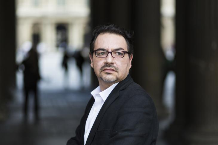 Portrait de Philippe Cohen-Grillet. © Philippe Matsas/Plein Jour