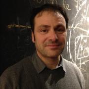 Eric Chevillard photographié à l'auditorium Saint-Germain pendant le Bal à la Page. Photo: Olivia Phélip