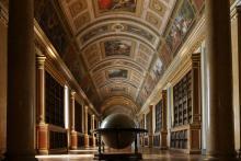 Château de Fontainebleau - La Bibliothèque de Napoléon. Photo : Flicker.